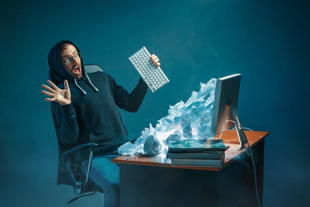 עומס של דואר אלקטרוני