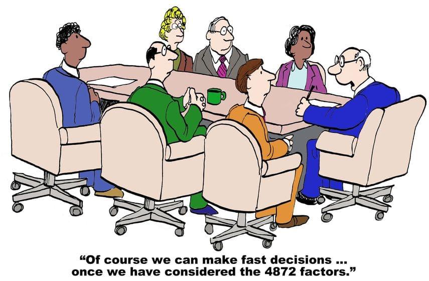 תמונה מייצגת לקושי שיש בקבלת החלטות - קורס קבלת החלטות של לירון פורת